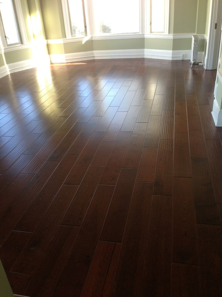 how long does it take for hardwood floors to dry